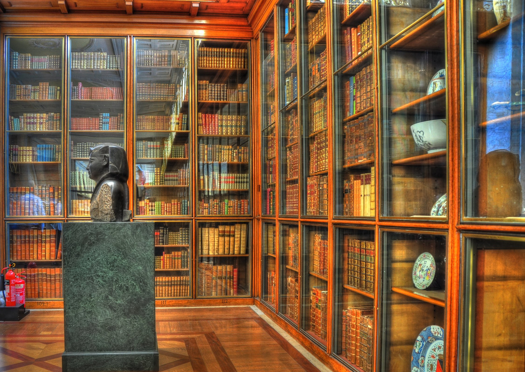 The British Museum's Enlightenment Room is a display dedicated to the age of Enlightenment.