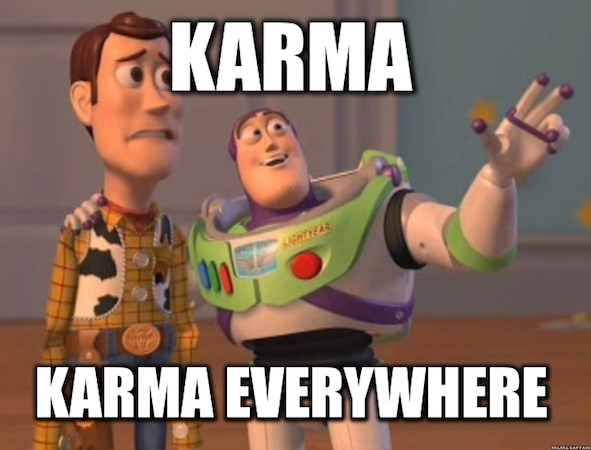 karma everywhere
