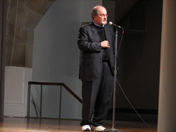 Writer Salman Rushdie hosts workshop